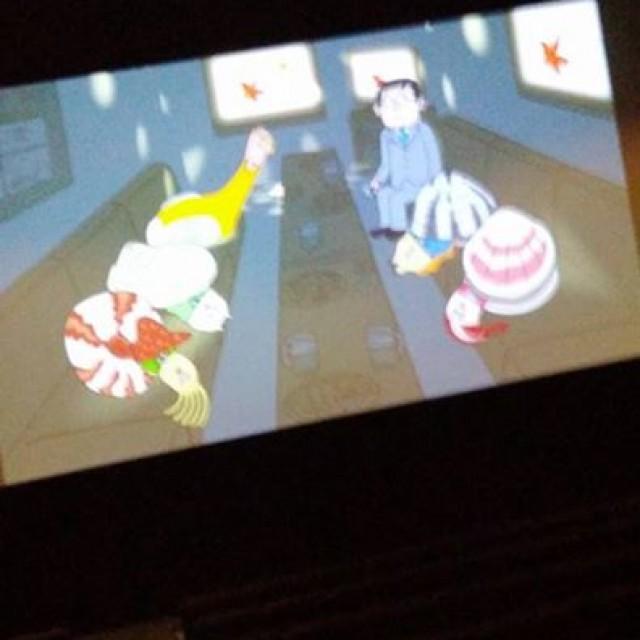 いるいるいるよね貝社員~♪映画館で見かけた方いますよねー。