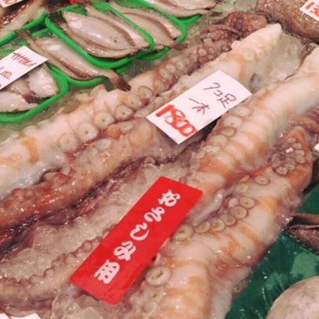 石川は金沢から、三橋が仕入れてきた超鮮度の高いお魚たち!!