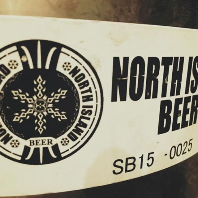ノースアイランドビールからブラウンエール開栓!
