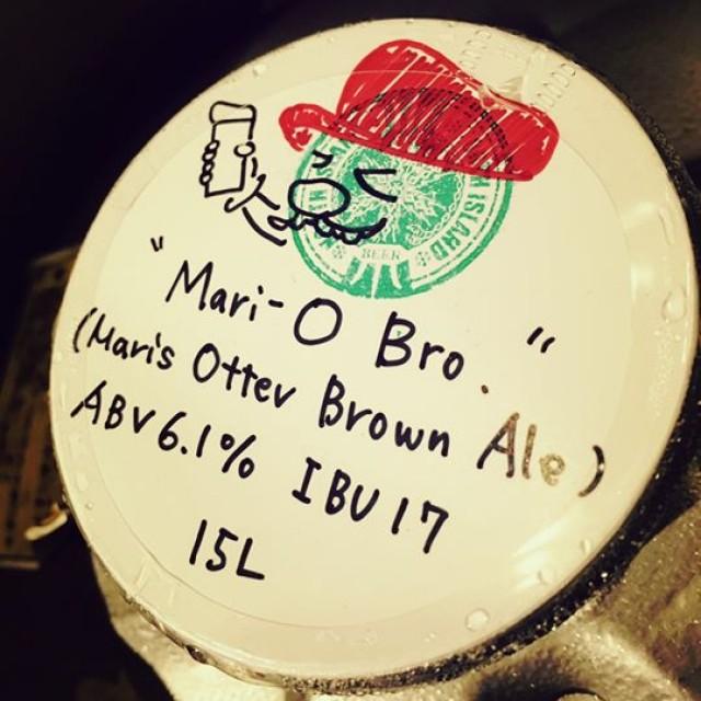 北海道の限定ビールのキャップが遊び心に溢れてましたw