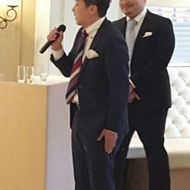 【お客様の結婚式でした!】