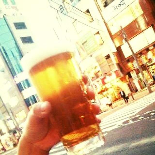 ビール日和だぜ!