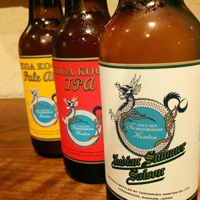 5月のボトルビール!