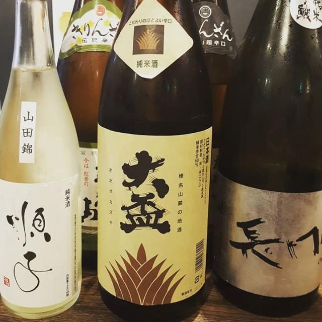日本酒も色々。