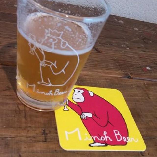 【箕面ビールはいつでも飲めます】