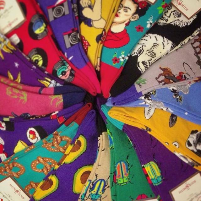 カラフル可愛い靴下届きました✨秋冬のお洒落の差し色にぜひ💃💃✨