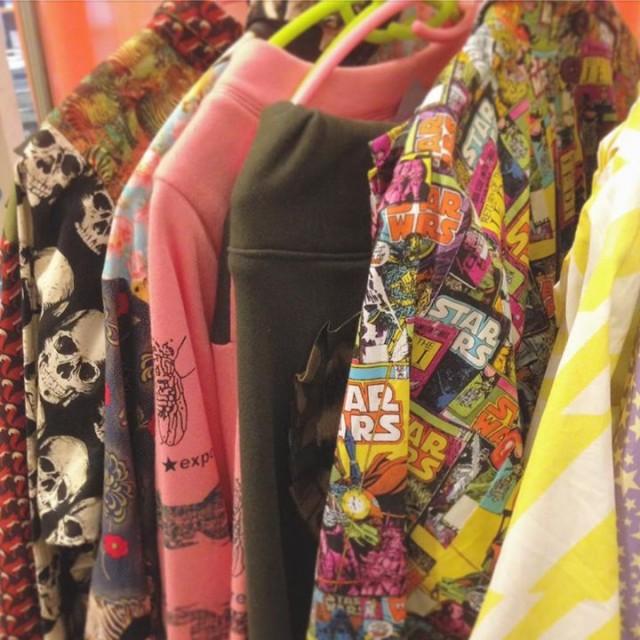 そしてozkexpoのお洋服も届いてますよ〜😍💕💕ハンドメイド一点物のお洋服✨もう可愛すぎて私が買っちゃうかもですよ〜😏👍🏻👍🏻✨