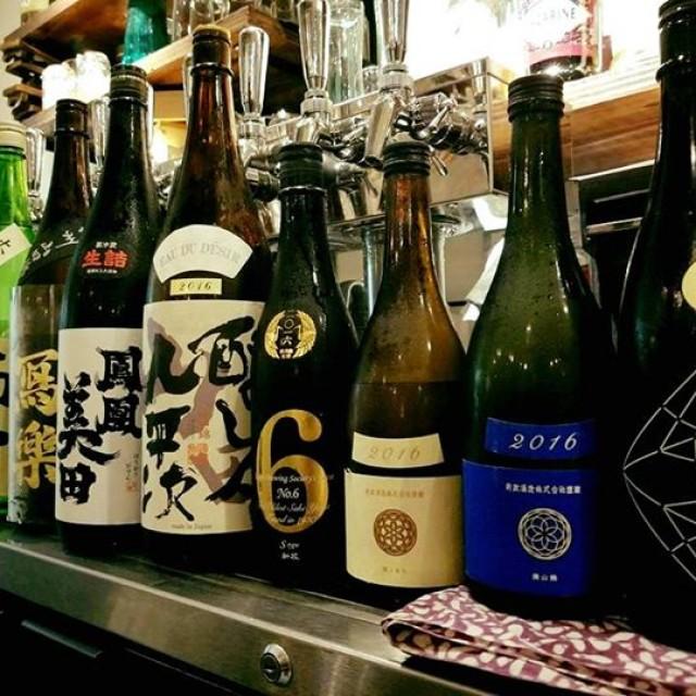 ビールも日本酒も充実のラインナップ!!!