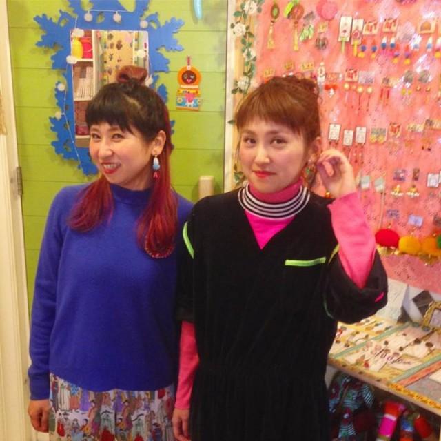 北海道からとーってもカラフルオシャレで可愛い姉妹が遊びに来てくれました😆💕💕