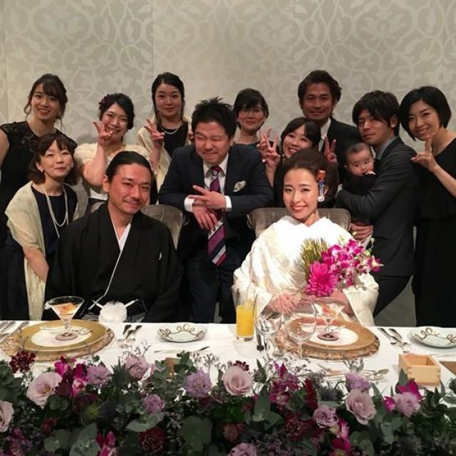 常連様のご結婚式!