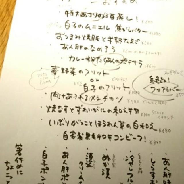 1月17日(水) 雨やばっ!本日の旨いもん!!
