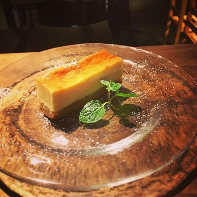 林檎ベイクドチーズケーキ!
