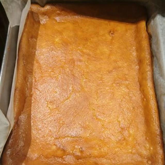 チーズケーキなんて焼けてます☆