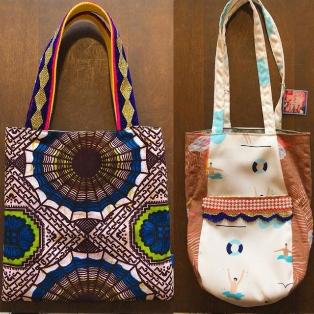 ちょっとそこまで財布とケータイ持ってお出掛け〜って時にピッタリサイズなPoiのミニバッグ2種可愛い〜〜✨✨