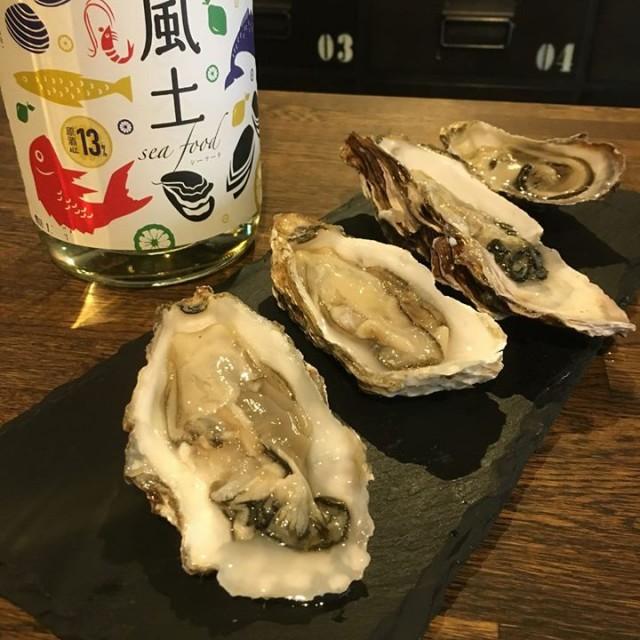 「生牡蠣祭り今日が最終日か!?☺️」