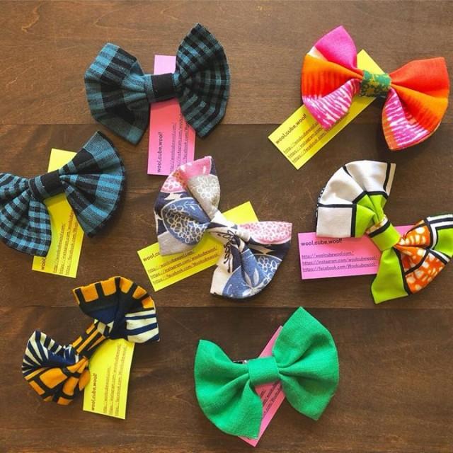 arinko新商品続々と入荷中‼️ wool,cube, wool!新作蝶ネクタイ💕💕クリップタイプなのでヘアアクセサリーとしてや、ブローチとしても色んなところに使えます😚👍🏻👍🏻✨小振りなのでお子様にもオススメ‼️✨✨