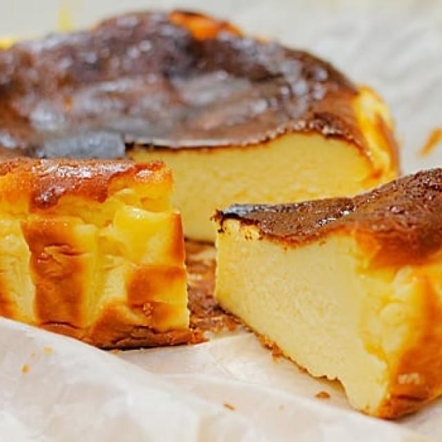 「スペイン風なチーズケーキ☆」 新作のデザートが出来ました!