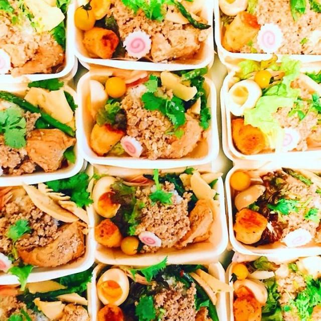 今週末10/26(金),27(土)『週末のナナ』ですが、ritecoさんの台湾弁当とタピオカドリンクは初日金曜のみの出店となります‼️