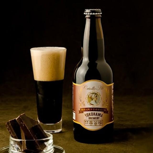 「大人味わい、希少なカカオを使った黒ビール」