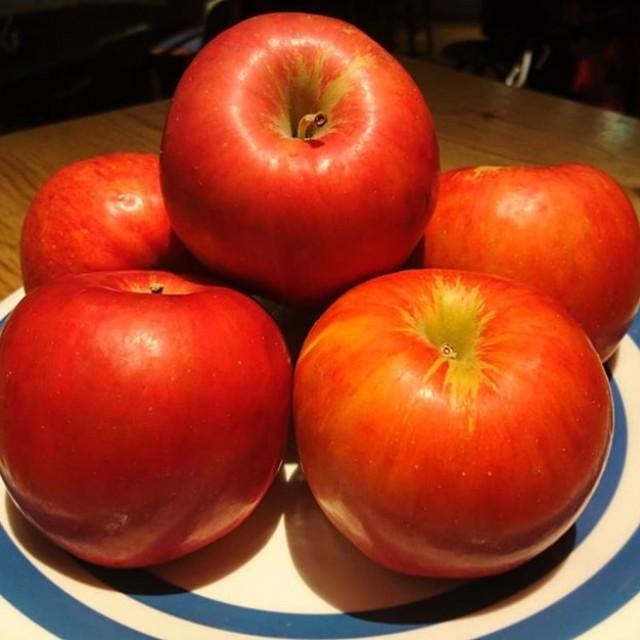 「今日はリンゴで新たな試み☆」