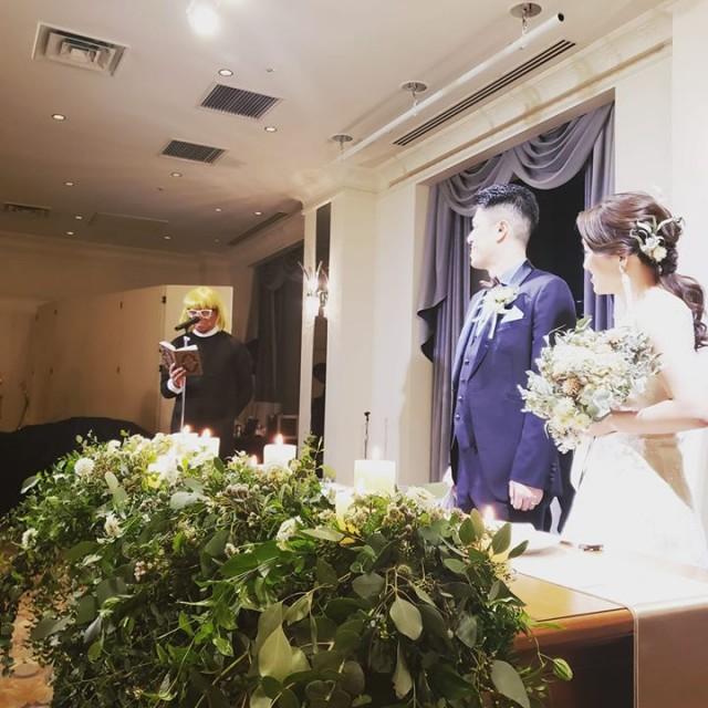 祝!ご結婚!
