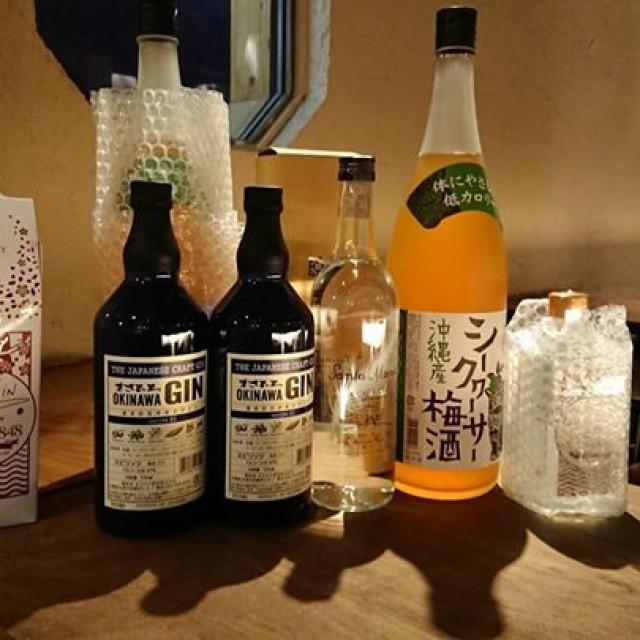 沖縄からお酒が届きましたよ~♪