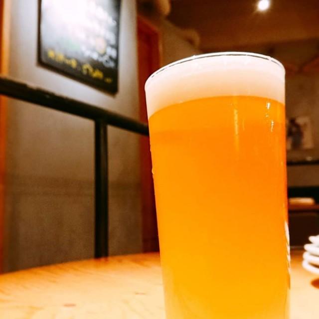 「月末も限定ビール開けちゃいます!」