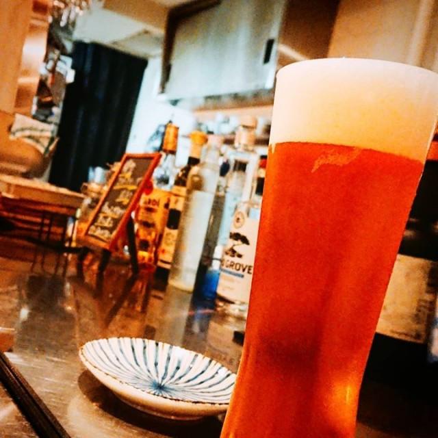 「イギリススタイルのクラフトビール!」