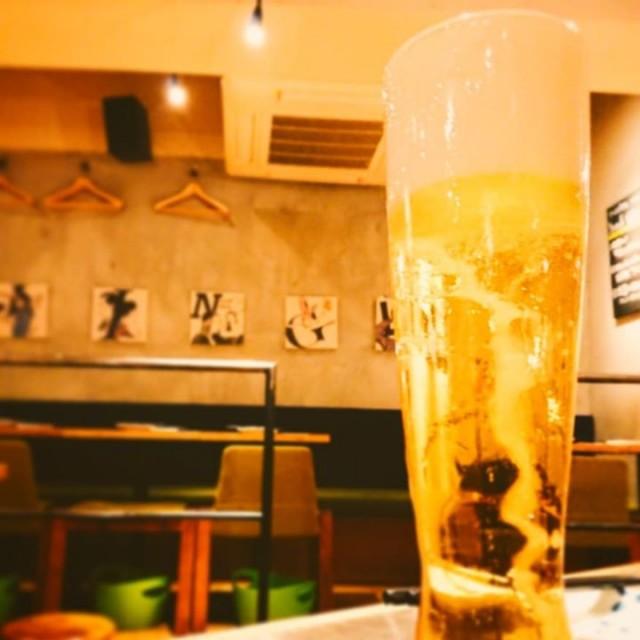 「黄金色の限定ビール!!」