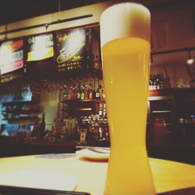 「春の新作セゾンビール!」