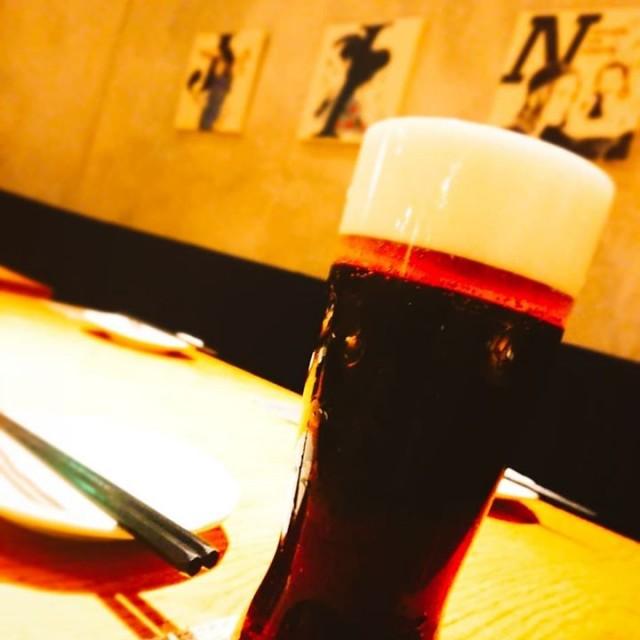 「ベイブルーイングの限定黒ビール!」