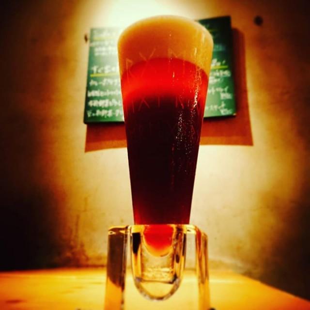 「待望の大人気黒ビール!」