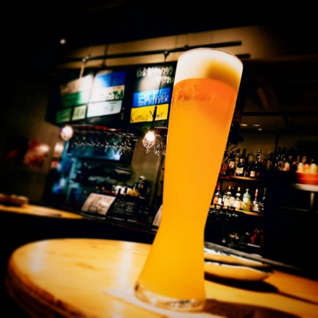 「久々の白ビール!!」