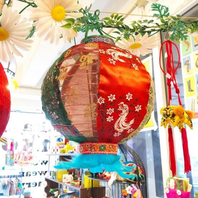 大人気の @mi_chuu さんの提灯も今回は台湾の生地を使用しております😆🙏💕💕