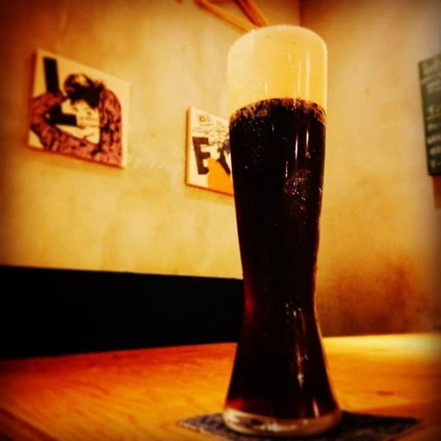 「ベイブルーイングの新作黒ビール!」