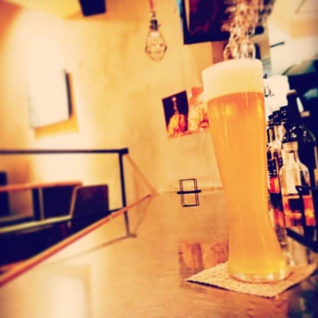 「爽やかリンゴビール!」 本日より、「駒ヶ岳醸造 / 南信州ビール アップルホップ」が登場です!