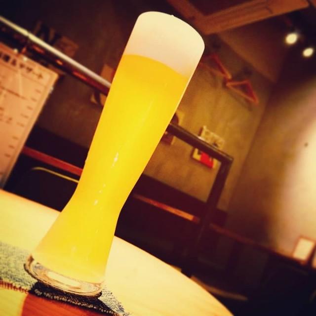「大人気の白ビール!横浜ビール/ヴァイツェン!」