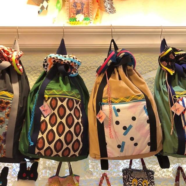 """Poiの毎回即完売のリュックサック""""nice trip bag""""も届いておりますよ〜😆🙏💕💕💕"""