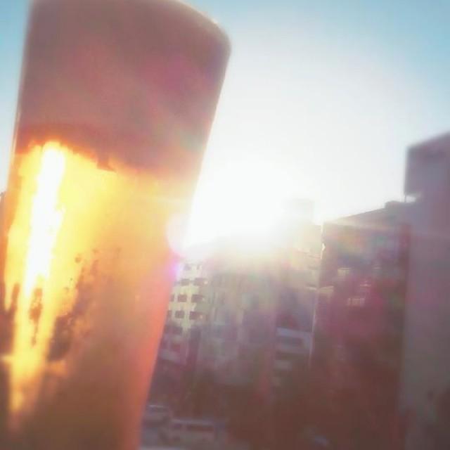 ビール日和♪