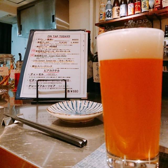 「常陸野ネストの新作ビール開栓!!」