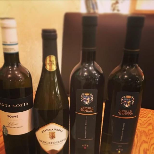 年末ワイン色々!