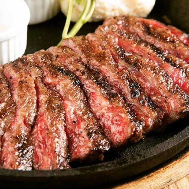 「新年度は牛肉のグリル♪」