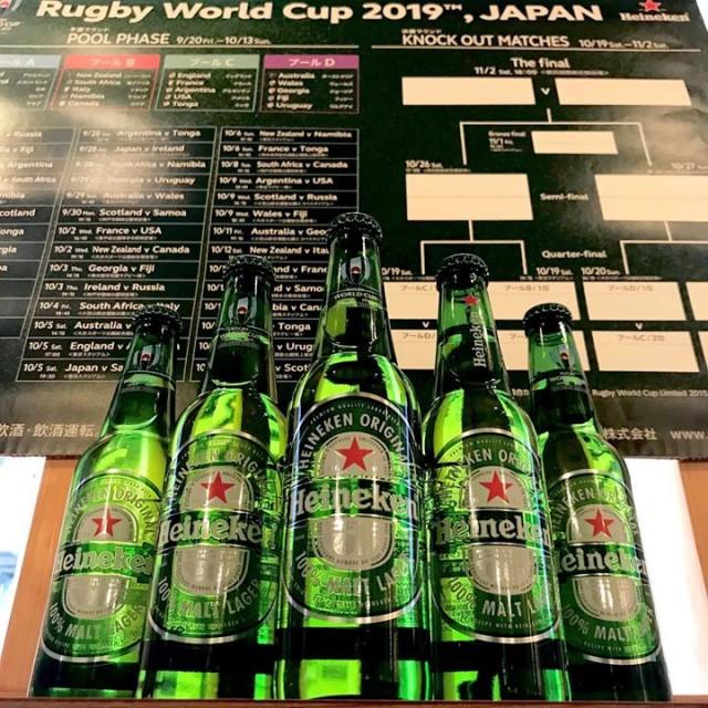 5日、ラグビーワールドカップ日本戦!