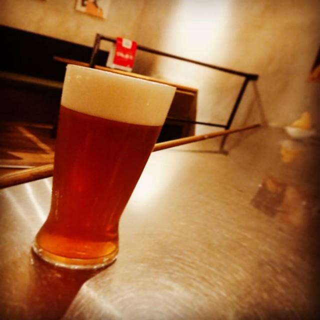 「進化した限定ビール!」
