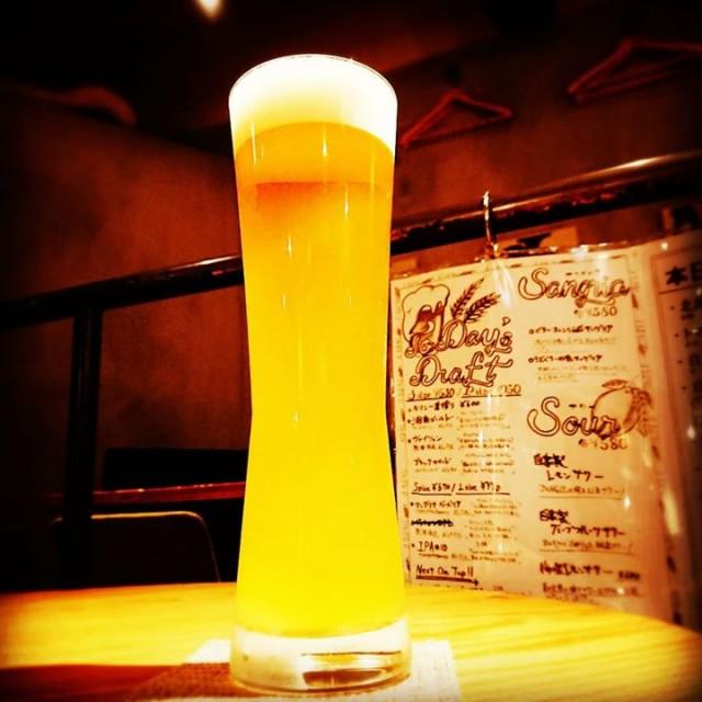 「大人気の白ビール&謎IPA」
