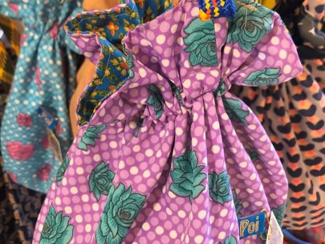 そしてこちらも大人気のPoi巾着バッグ‼️このコロンとした形が可愛いですよね😚💕💕